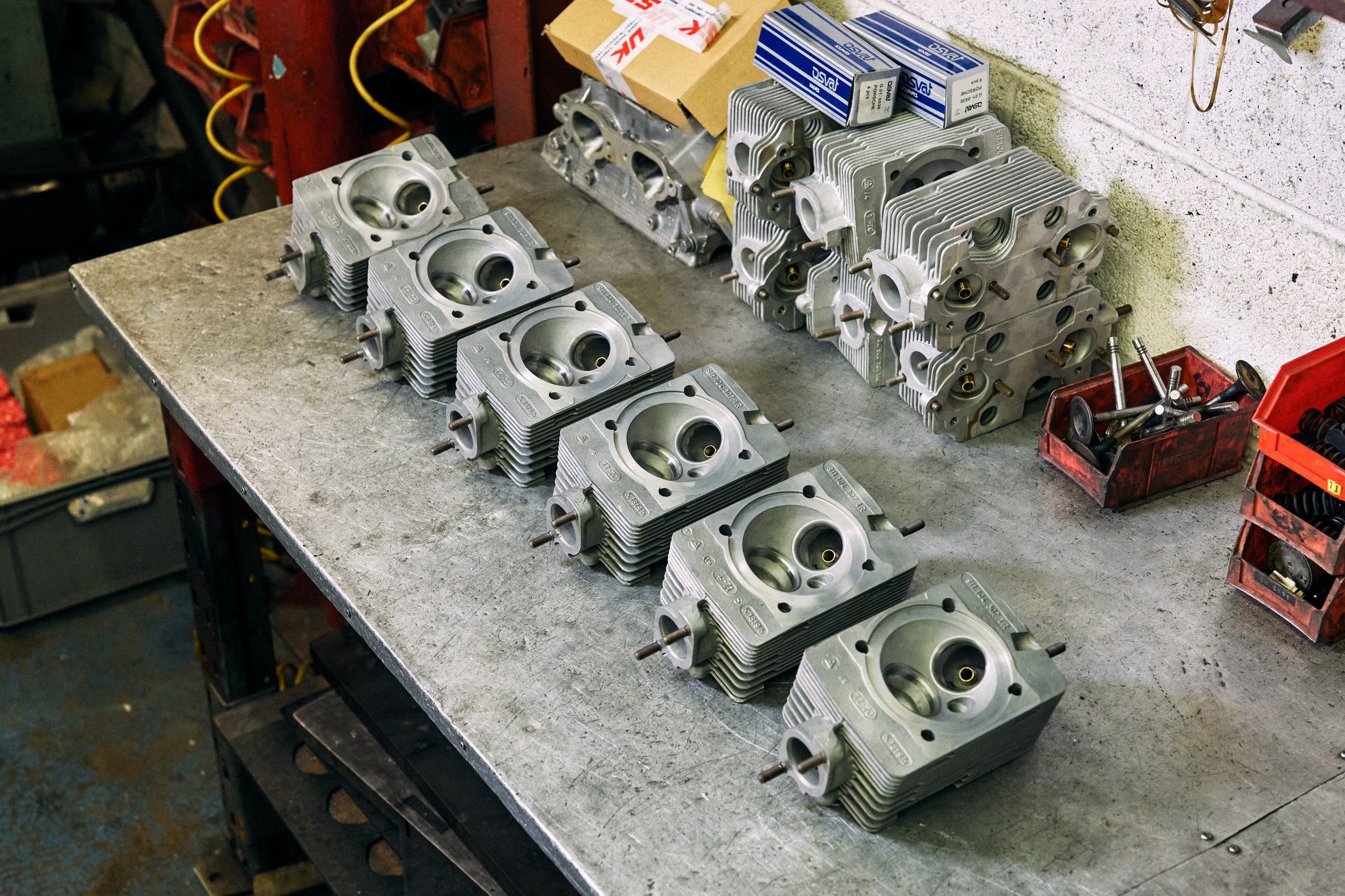 Porsche performance engines